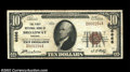 National Bank Notes:Virginia, Broadway, VA - $10 1929 Ty. 1 The First NB Ch. # 6666...