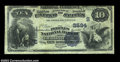 National Bank Notes:Virginia, Charlottesville, VA - $10 1882 Value Back Fr. 577 The ...