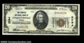 National Bank Notes:Virginia, Charlottesville, VA - $20 1929 Ty. 1 The Peoples NB Ch....
