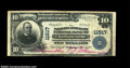 National Bank Notes:Virginia, Charlottesville, VA - $10 1902 Plain Back Fr. 632 The ...