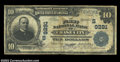 National Bank Notes:Virginia, Chase City, VA - $10 1902 Plain Back Fr. 626 The First ...