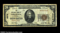 National Bank Notes:Virginia, Chilhowie, VA - $20 1929 Ty. 1 The NB of Chilhowie Ch. ...