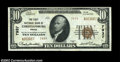 National Bank Notes:Virginia, Christiansburg, VA - $10 1929 Ty. 2 The First NB Ch. # ...