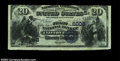 National Bank Notes:Virginia, Clifton Forge, VA - $20 1882 Value Back Fr. 581 The ...
