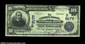 National Bank Notes:Virginia, Clifton Forge, VA - $10 1902 Plain Back Fr. 626 The ...