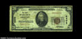 National Bank Notes:Virginia, Coeburn, VA - $20 1929 Ty. 1 The First NB Ch. # 6899...