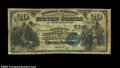 National Bank Notes:Virginia, Covington, VA - $20 1882 Date Back Fr. 555 The Citizens ...