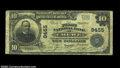 National Bank Notes:Virginia, Crewe, VA - $10 1902 Plain Back Fr. 626 The First NB ...