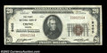 National Bank Notes:Virginia, Crewe, VA - $20 1929 Ty. 1 The First NB Ch. # 9455