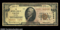 National Bank Notes:Virginia, Crewe, VA - $10 1929 Ty. 2 The NB of Crewe Ch. # 14052...