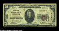 National Bank Notes:Virginia, Culpeper, VA - $20 1929 Ty. 1 The Second NB Ch. # 5394...