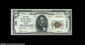 National Bank Notes:Virginia, Danville, VA - $5 1929 Ty. 2 The First NB Ch. # 1985...