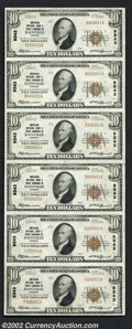 National Bank Notes:Virginia, Danville, VA - $10 1929 Ty. 1 American NB & TC Ch. # ...
