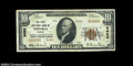 National Bank Notes:Virginia, Emporia, VA - $10 1929 Ty. 2 The First NB Ch. # 8688...