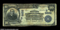 National Bank Notes:Virginia, Farmville, VA - $10 1902 Date Back Fr. 618 The Peoples ...