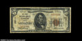 National Bank Notes:Virginia, Ferrum, VA - $5 1929 Ty. 1 The First NB Ch. # 12311...