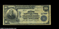 National Bank Notes:Virginia, Flint Hill, VA - $10 1902 Plain Back Fr. 633 The First ...