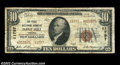 National Bank Notes:Virginia, Flint Hill, VA - $10 1929 Ty. 2 The First NB Ch. # ...