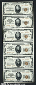 National Bank Notes:Virginia, Fredericksburg, VA - $20 1929 Ty. 2 The Planters NB Ch....