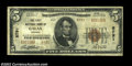 National Bank Notes:Virginia, Galax, VA - $5 1929 Ty. 2 The First NB Ch. # 8791