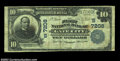 National Bank Notes:Virginia, Gate City, VA - $10 1902 Plain Back Fr. 624 The First NB...