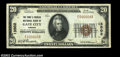 National Bank Notes:Virginia, Gate City, VA - $20 1929 Ty. 1 The First & Peoples NB ...