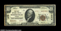 National Bank Notes:Virginia, Harrisonburg, VA - $10 1929 Ty. 2 The First NB Ch. # ...