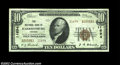National Bank Notes:Virginia, Harrisonburg, VA - $10 1929 Ty. 2 The NB of Harrisonburg...