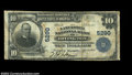 National Bank Notes:Virginia, Irvington, VA - $10 1902 Plain Back Fr. 633 The ...
