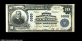 National Bank Notes:Virginia, Lebanon, VA - $10 1902 Plain Back Fr. 626 The First NB ...
