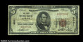 National Bank Notes:Virginia, Luray, VA - $5 1929 Ty. 1 The First NB Ch. # 6031...