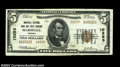 National Bank Notes:Virginia, Marshall, VA - $5 1929 Ty. 2 Marshall NB & TC Ch. # ...