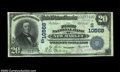 National Bank Notes:Virginia, New Market, VA - $20 1902 Plain Back Fr. 657 The First ...