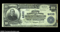 National Bank Notes:Virginia, Newport News, VA - $10 1902 Plain Back Fr. 628 The First ...