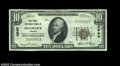 National Bank Notes:Virginia, Onancock, VA - $10 1929 Ty. 1 The First NB Ch. # 4940...