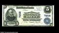 National Bank Notes:Virginia, Onley, VA - $5 1902 Plain Back Fr. 598 The Farmers & ...