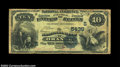 National Bank Notes:Virginia, Orange, VA - $10 1882 Value Back Fr. 577 The NB of ...