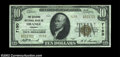 National Bank Notes:Virginia, Orange, VA - $10 1929 Ty. 2 The Citizens NB Ch. # 7150...