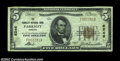 National Bank Notes:Virginia, Parksley, VA - $5 1929 Ty. 1 The Parksley NB Ch. # ...
