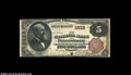 National Bank Notes:Virginia, Petersburg, VA - $5 1882 Brown Back Fr. 469 The NB of ...