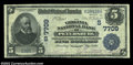 National Bank Notes:Virginia, Petersburg, VA - $5 1902 Date Back Fr. 590 The Virginia ...