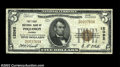 National Bank Notes:Virginia, Poquoson, VA - $5 1929 Ty. 1 The First NB Ch. # 12092...