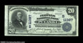 National Bank Notes:Virginia, Pulaski, VA - $20 1902 Plain Back Fr. 658 The Peoples NB...