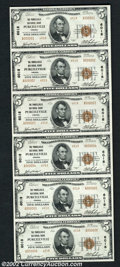 National Bank Notes:Virginia, Purcellville, VA - $5 1929 Ty. 2 The Purcellville NB ...