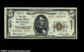 National Bank Notes:Virginia, Quantico, VA - $5 1929 Ty. 2 The First NB Ch. # 12477...