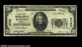 National Bank Notes:Virginia, Radford, VA - $20 1929 Ty. 1 The First NB Ch. #6782