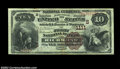 National Bank Notes:Virginia, Richmond, VA - $10 1882 Brown Back Fr. 480 The First NB...