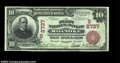 National Bank Notes:Virginia, Roanoke, VA - $10 1902 Red Seal Fr. 613 The First NB ...
