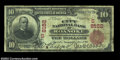 National Bank Notes:Virginia, Roanoke, VA - $10 1902 Red Seal Fr. 614 The City NB Ch....
