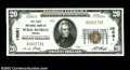 National Bank Notes:Virginia, Rural Retreat, VA - $20 1929 Ty. 1 The First NB Ch. # ...